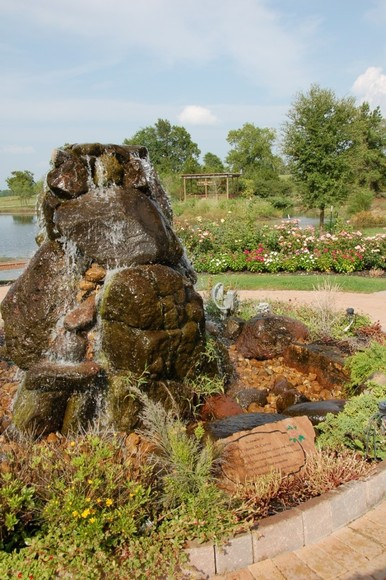 Memory Park Fountain